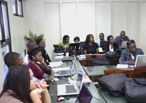 Students at the University of the Commonwealth Caribbean will soon be able to take tech classes via the OHUB@Jamaica knowledge building platform .