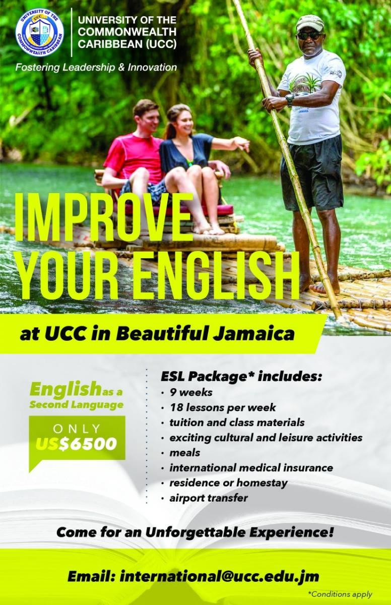 English as a Second Language - 9 Week Programme