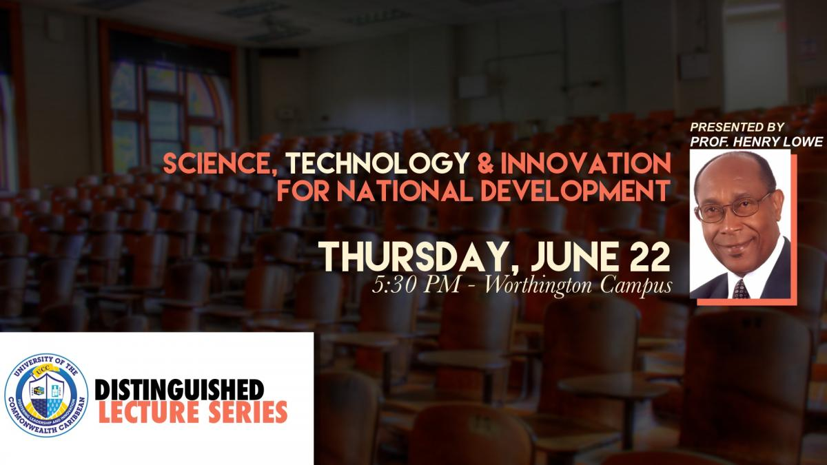 Distinguished Lecture Series - June 22