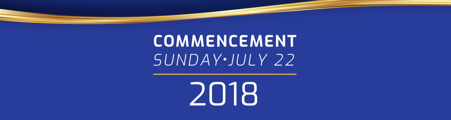 Visit our Commencement 2018 page