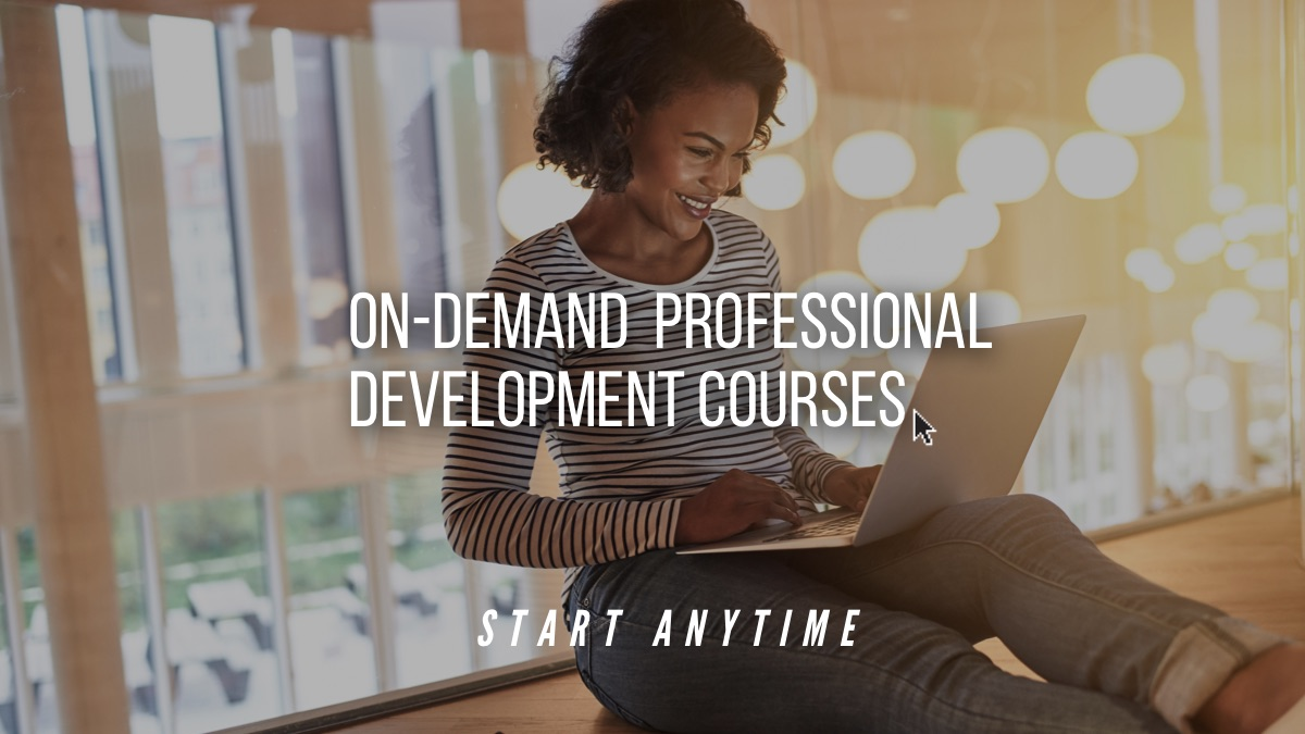 On Demand courses at UCC