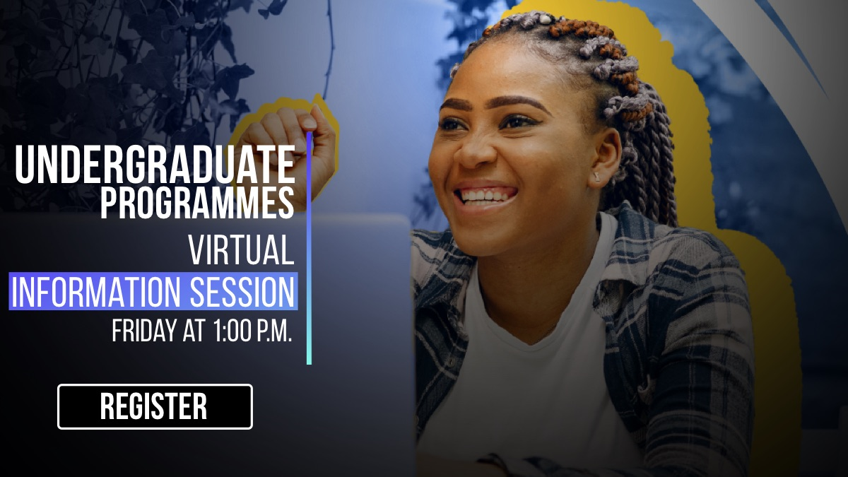 Undergraduate degree programmes virtual information session